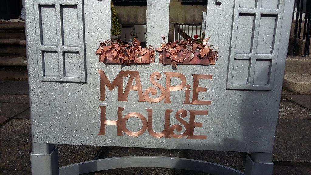 Maspie House Sign 2