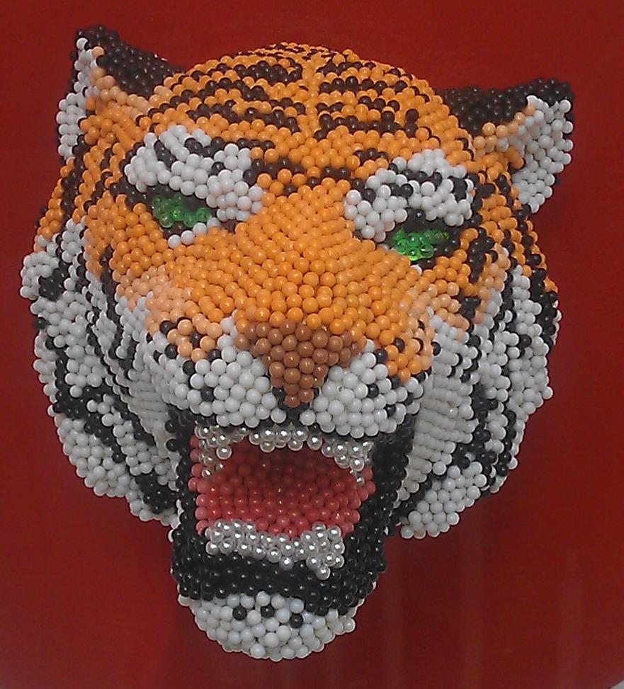 David Mach - Tiger 2
