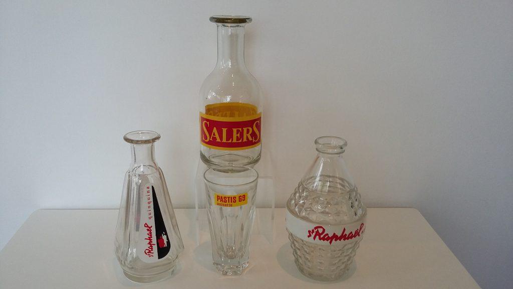 Pastis bottles 3